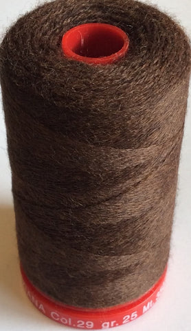 Genziana Wool Thread - Dutch Cocoa 029