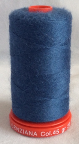 Genziana Wool Thread - Blue Jeans 045