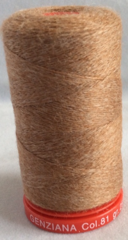 Genziana Wool Thread - Toast 081