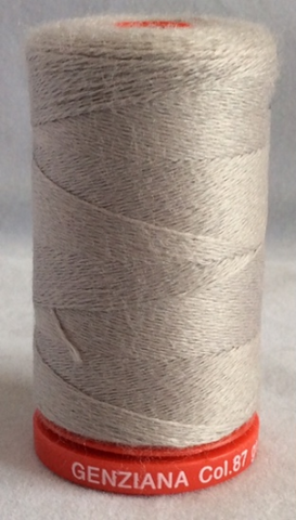 Genziana Wool Thread - Silver Grey 087