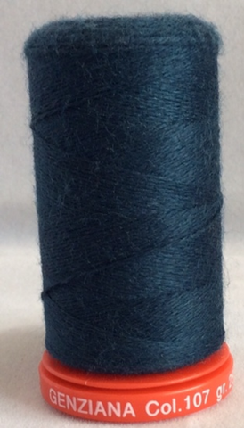 Genziana Wool Thread - Dark Teal 107