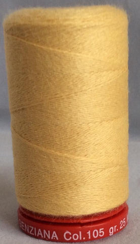 Genziana Wool Thread - Yolk Yellow 105