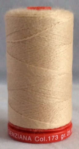 Genziana Wool Thread - Latte 173
