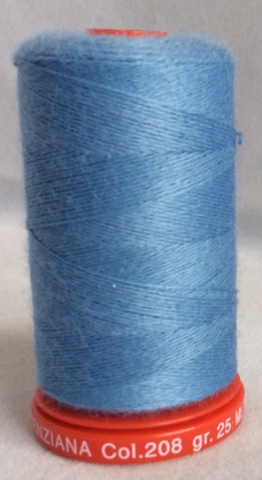 Genziana Wool Thread - Powder Blue 208
