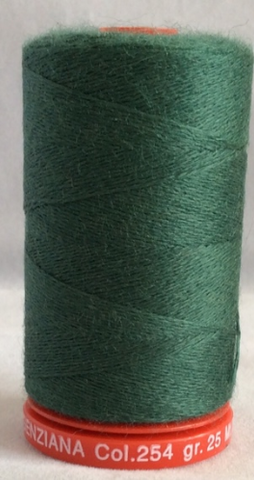 Genziana Wool Thread - Jungle Green 254