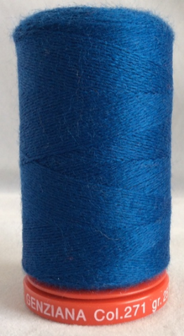 Genziana Wool Thread - Navy 271
