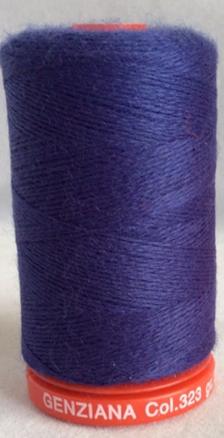 Genziana Wool Thread - Cobalt Blue 323