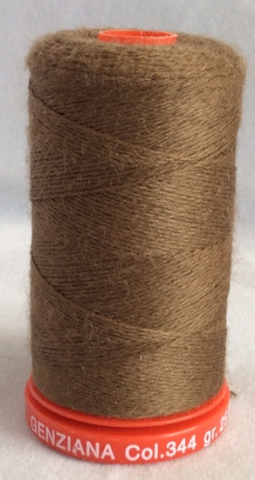 Genziana Wool Thread - Donkey Brown 344