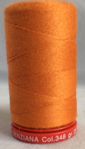 Genziana Wool Thread - Saffron 348