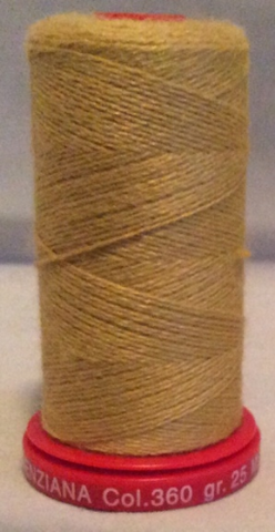 Genziana Wool Thread - Gold 360