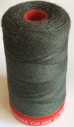 Genziana Wool Thread - Deep Forrest 468