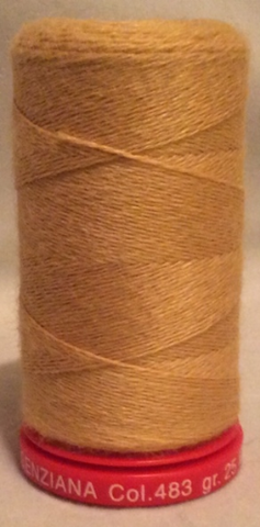 Genziana Wool Thread - Amber 483
