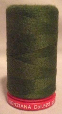 Genziana Wool Thread - Olive 523