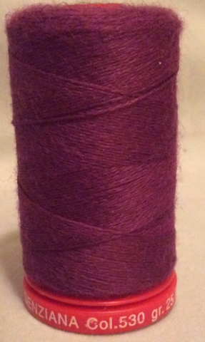 Genziana Wool Thread - Bleeding Heart 530