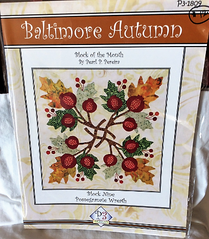 Baltimore Autumn Pattern Block #9