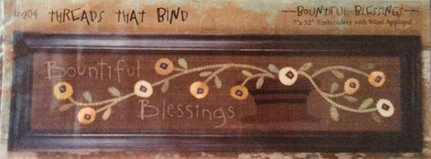 Bountiful Blessings Pattern