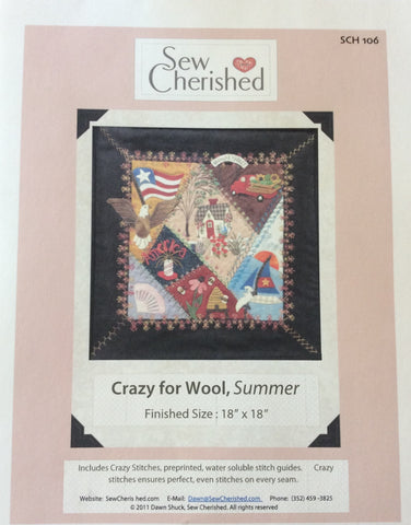 Crazy For Wool - Summer Pattern