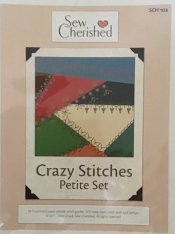 Crazy Stitches Petite Set - Pattern