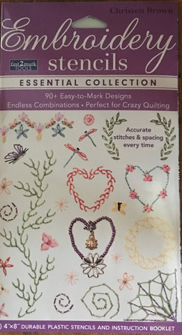 Embroidery Stencils - Essential Collection