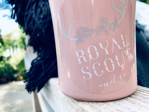 Royal Scout Stickers - Blue