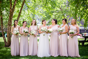 How to Pull Off Mismatched Bridesmaid Dresses Flawlessly