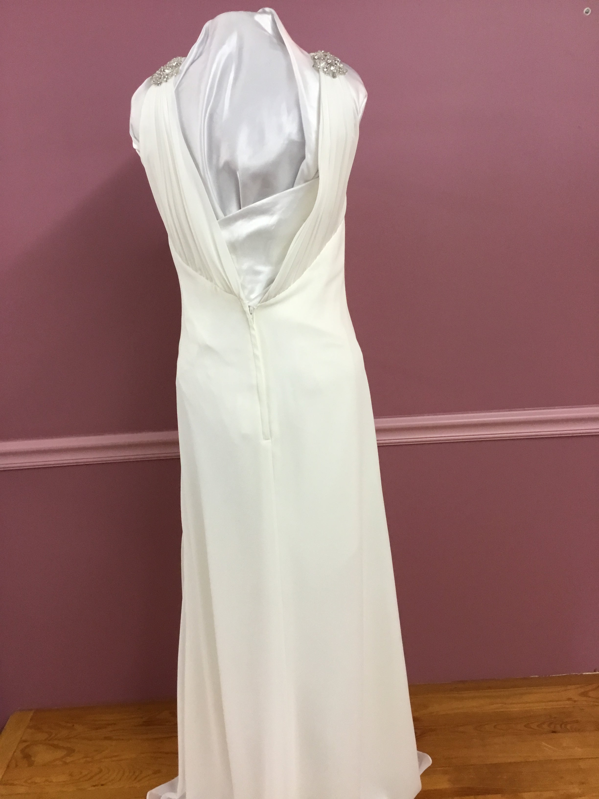 V-Neck Informal Gown