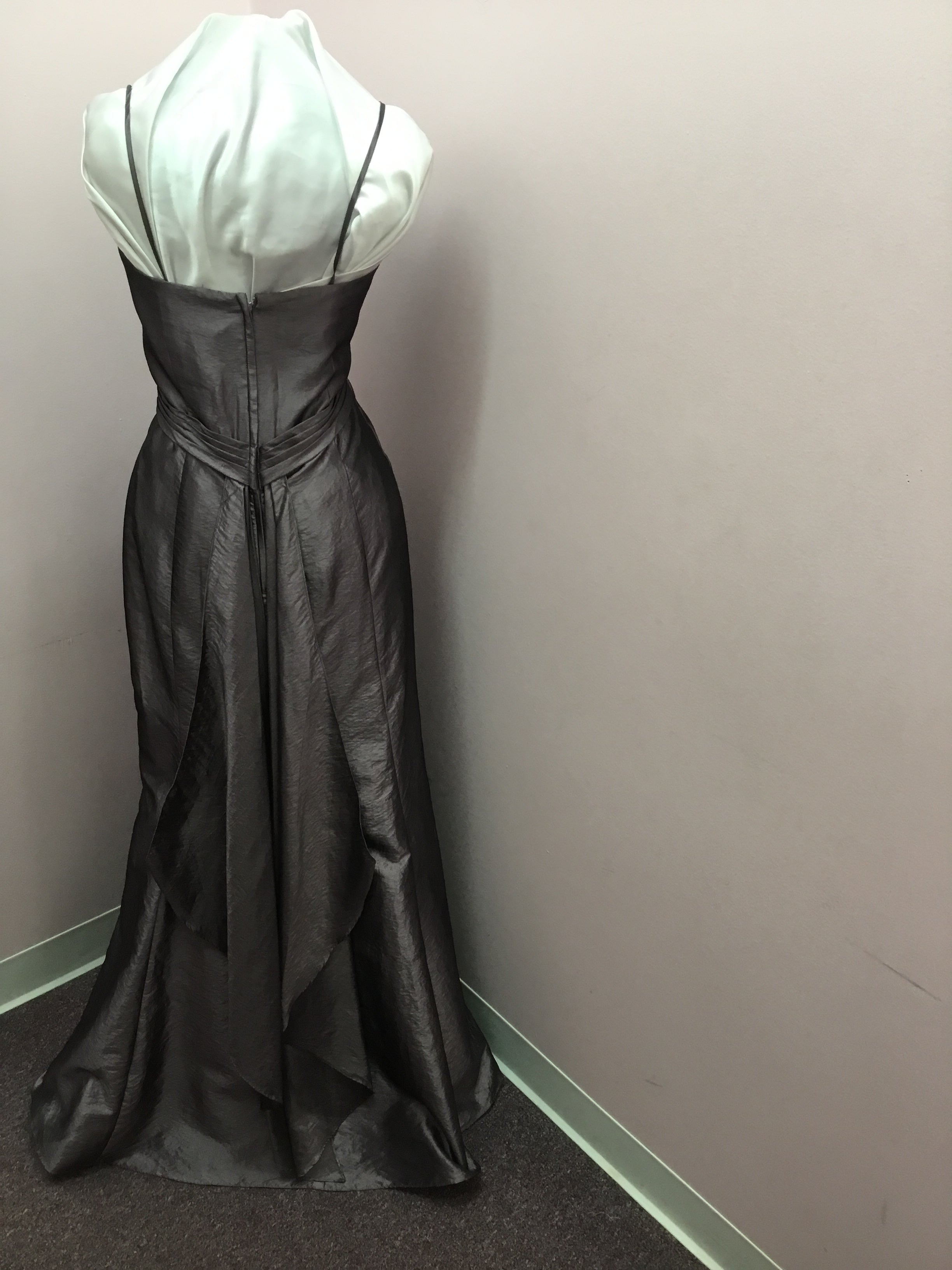 Black Twist Gown