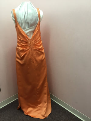 Sunset Orange Formal Dress