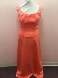 Coral Formal Gown