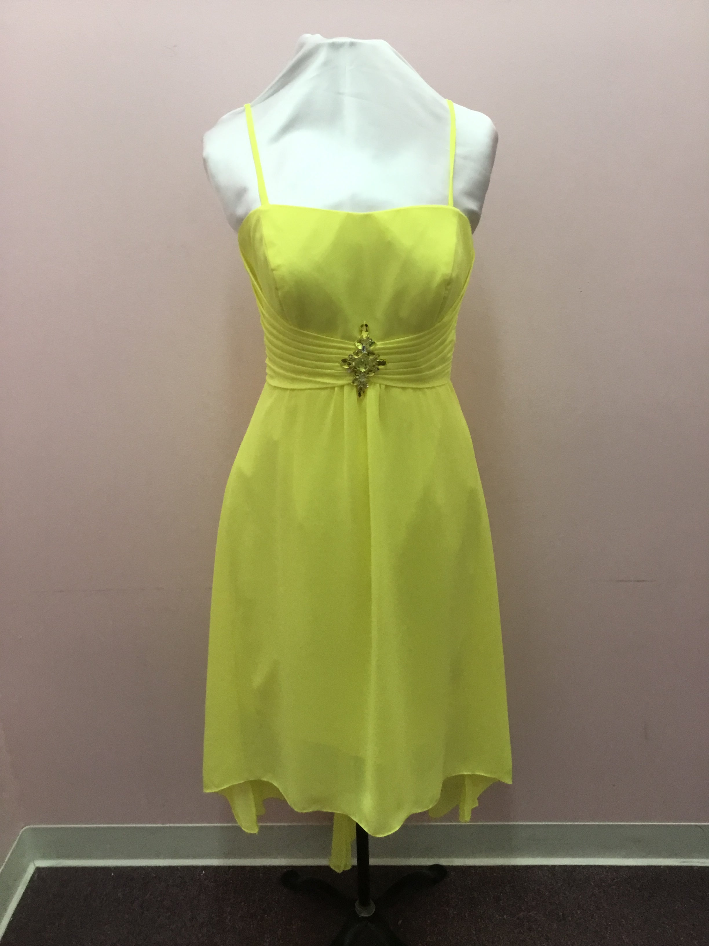 Jeweled Yellow Dress