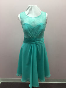 Turquoise Lace Dress