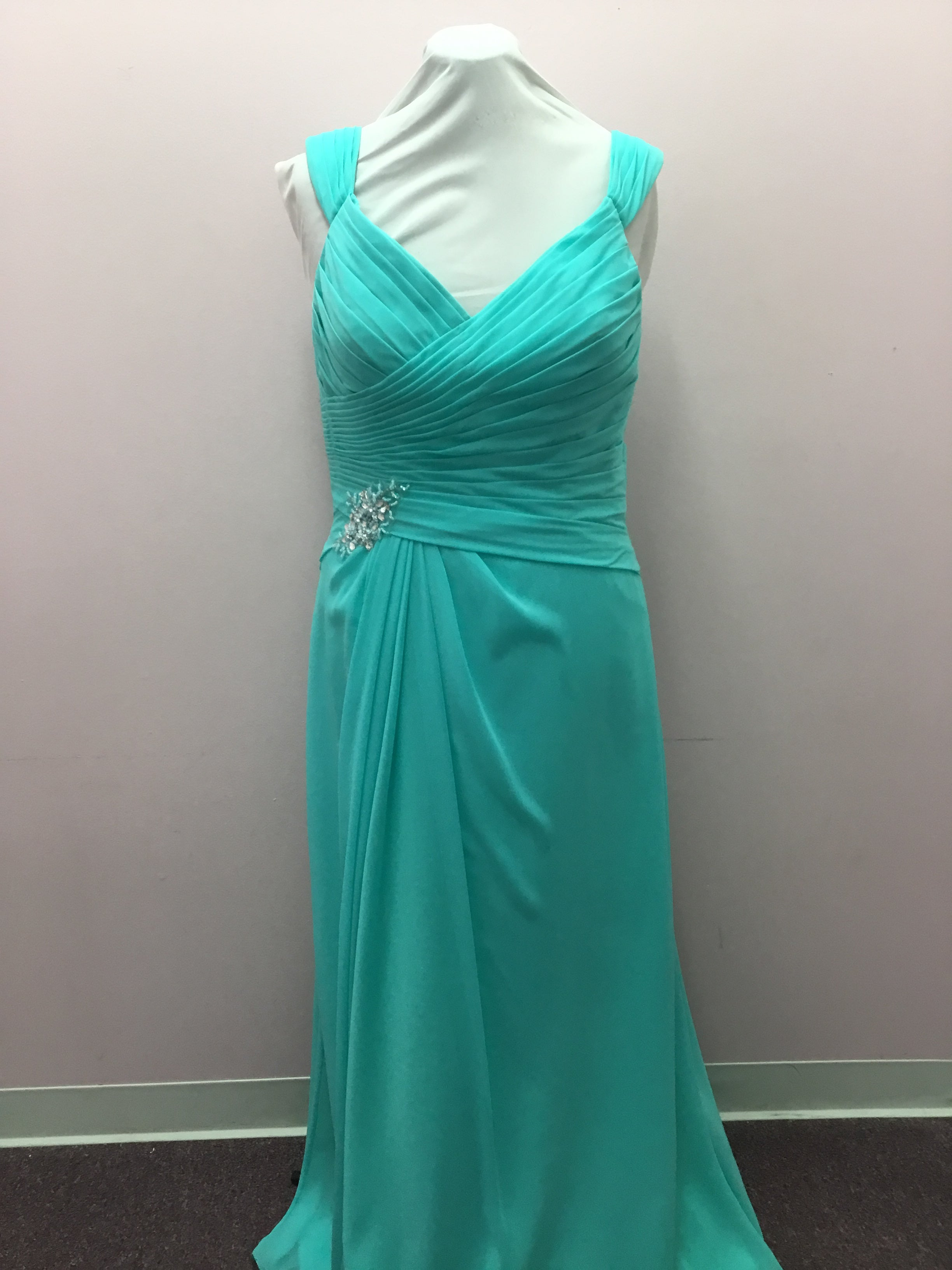 Electric Blue Mothers Dress