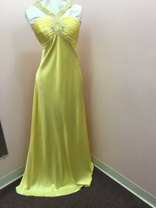 Canary Yellow Formal Gown