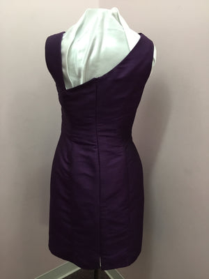 Deep Purple Cocktail Gown