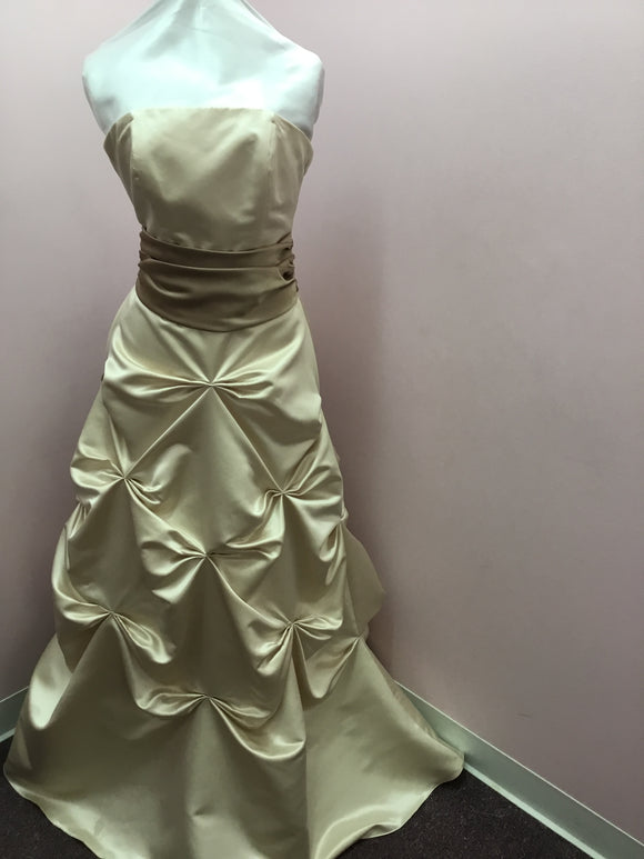 Ivory Strapless Gown