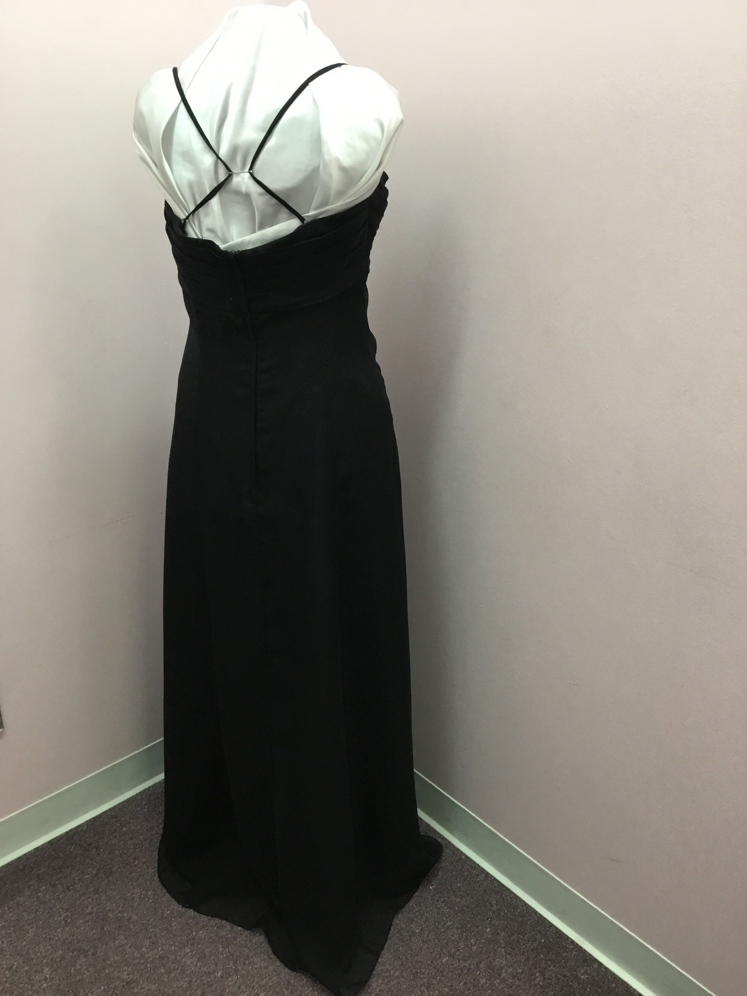 Spaghetti Strap Black Dress