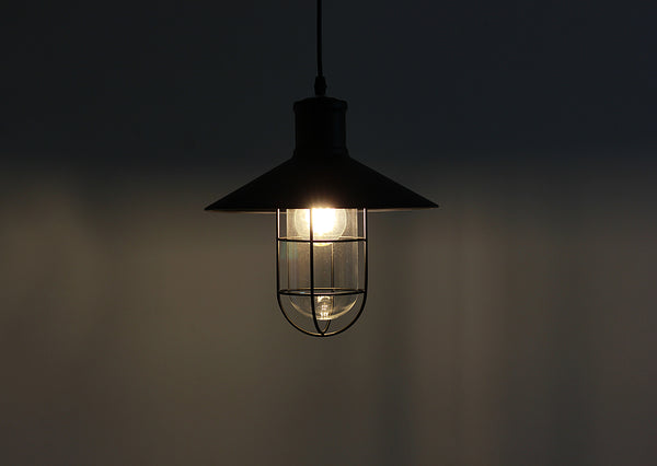 Retro Industrial Cage Lamp