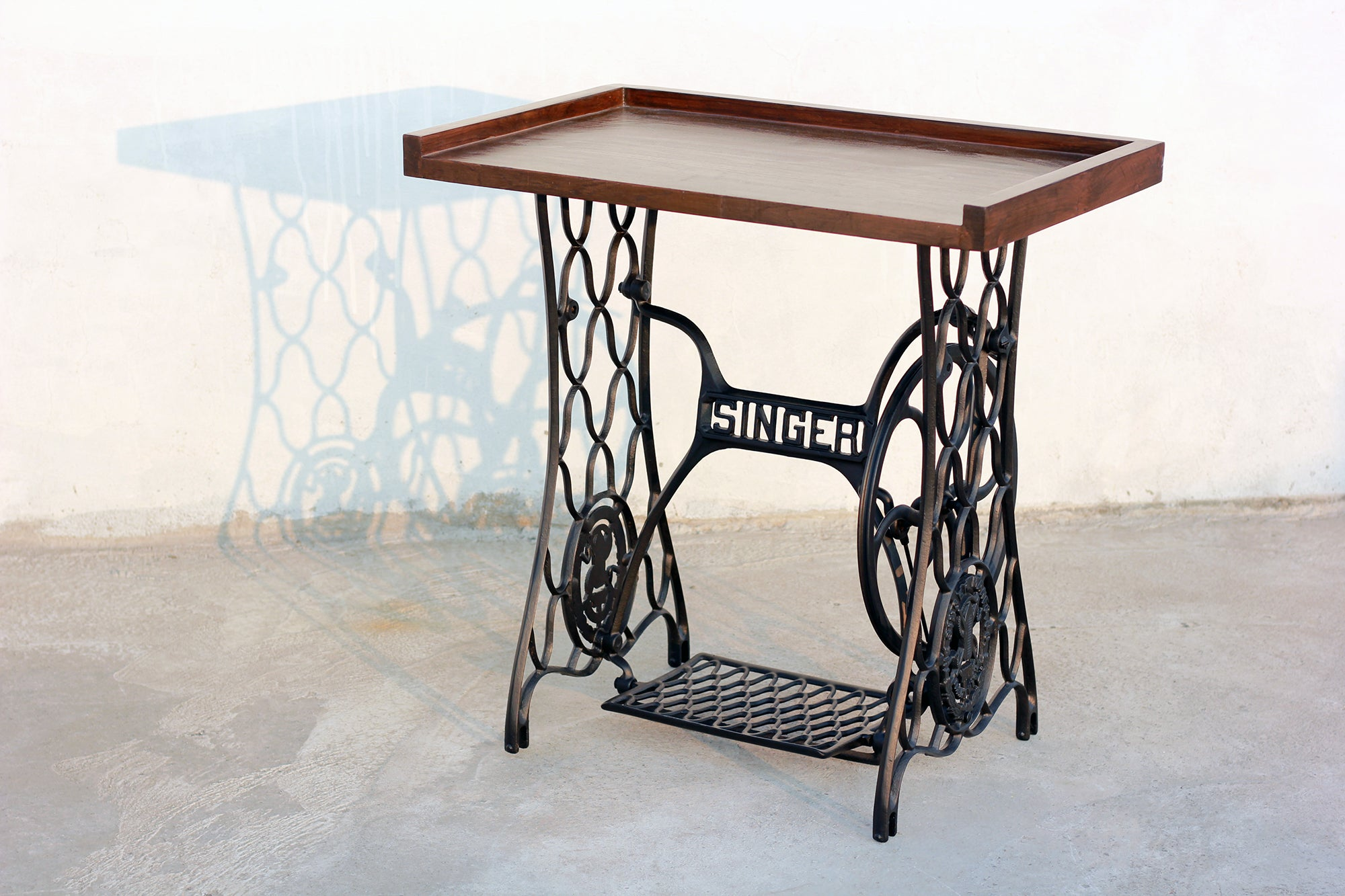 Vintage Sewing Machine Table