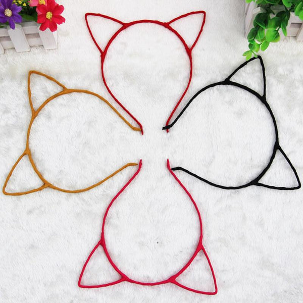 1 PCS Stylish Women Girls Cat Ears Headband Accessories