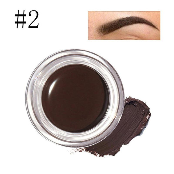 5 Colors Eyebrow Gel Durable Focallure Eyebrow Pomade Gel Waterproof