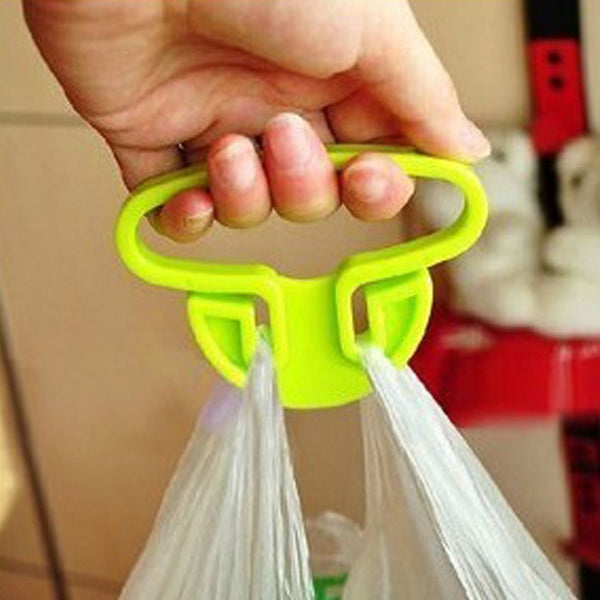 1 Convenient Grips Holder Handle Carrier Tool A Good Helper Of Multifunctional Bag Holder