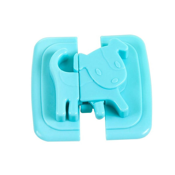 Baby Care Locks Cartoon Shape Cupboard Door Lock Drawer Cabinet Safety