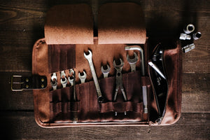 Probably the Best Leather Tool Roll Available