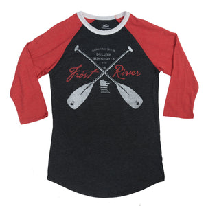 Frost River 3/4 Crossed Paddles Tee