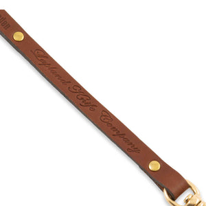 Leather Lanyard with Clasp