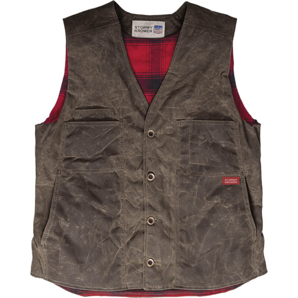 The Waxed Cotton Vest