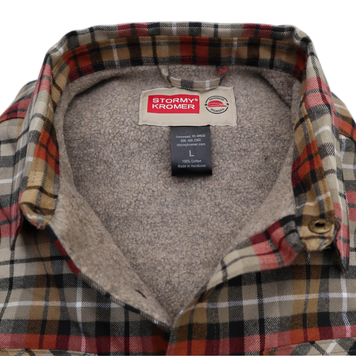 Jac Shirt Light Plaid