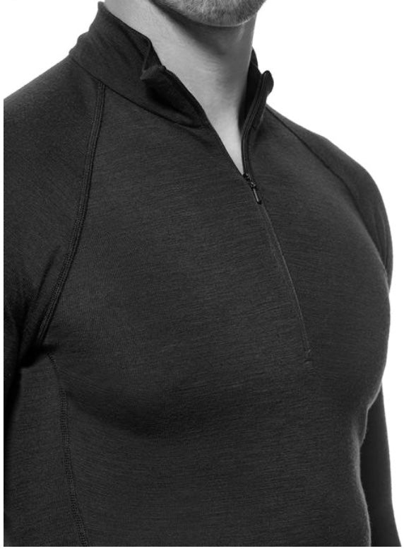Icebreaker Merino, Merino Wool Men, Long sleeve half zip