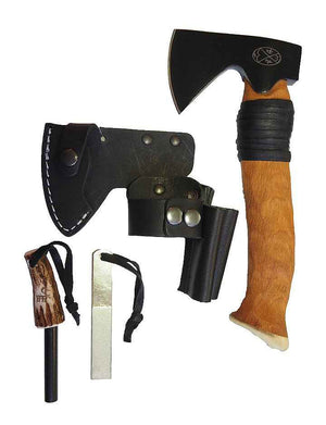 Karesuando Mettämies Bushcraft Survival Axe BLACK