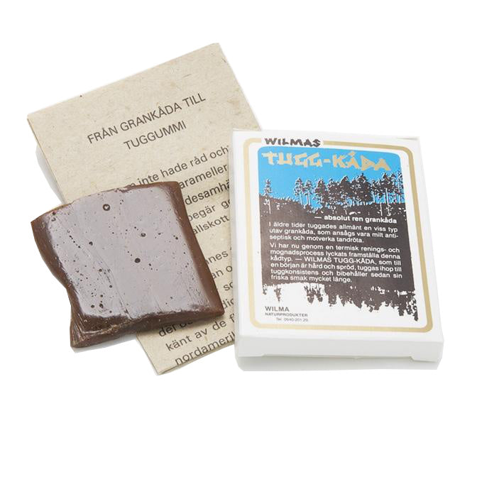 Spruce Resin Chewing Gum